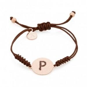 Letter P bracelet
